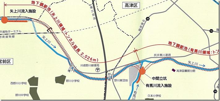 図(矢上川調節池)